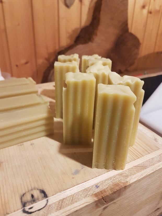 kleine Seifen - perfekt zur Haarwäsche